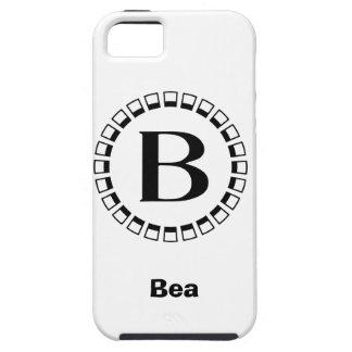 Vintage turn of the century, monogram B iPhone SE/5/5s Case