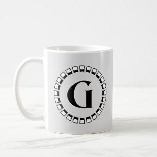 Vintage turn of the century, monogram G Coffee Mug