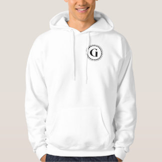 Vintage turn of the century, monogram G Hoodie