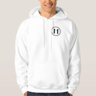 Vintage turn of the century, monogram H Hoodie