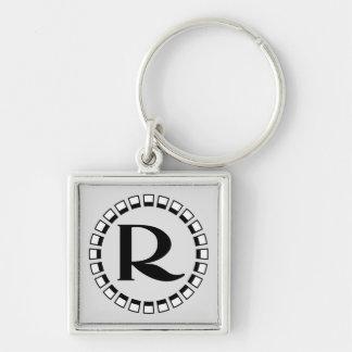 Vintage turn of the century, monogram R Keychain