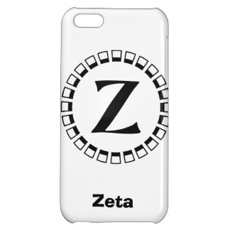 Vintage turn of the century, monogram Z Case For iPhone 5C