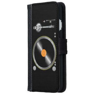 Vintage Turntable iPhone 6/6s Wallet Case