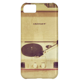 Vintage Turntable Phone Case Cover For iPhone 5C
