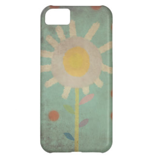 Vintage Turquoise Old One Flower Case iphone 5 - 4 iPhone 5C Covers