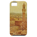 Vintage Tuscany, medieval Siena iPhone 5 Covers