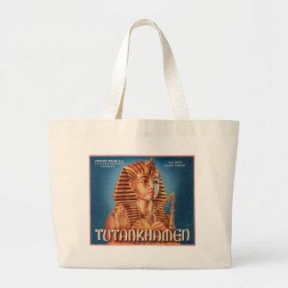 Vintage Tutankhamen Fruit Crate Label Bag