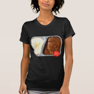 Vintage TV Dinner Salisbury Steak Now More Meat T-Shirt