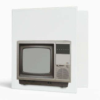 vintage tv set binder
