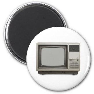 vintage tv set magnet