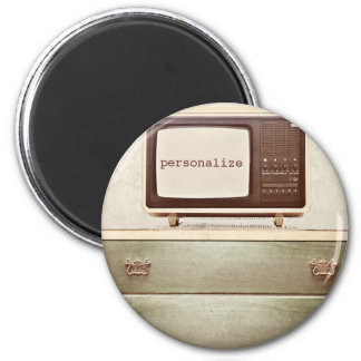 Vintage TV Star 2 Inch Round Magnet