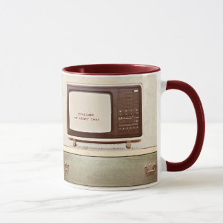 Vintage TV Star Mug