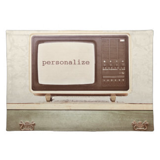 Vintage TV Star Placemat