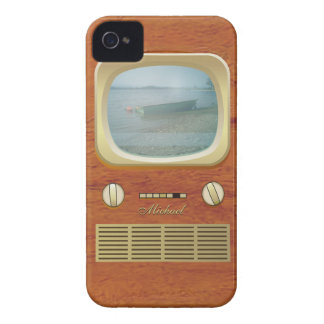 Vintage Tv Television iPhone 4 Case