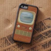 Vintage Tv Television Tough Xtreme iPhone 6 Case
