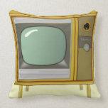 VINTAGE TV Throw Pillow