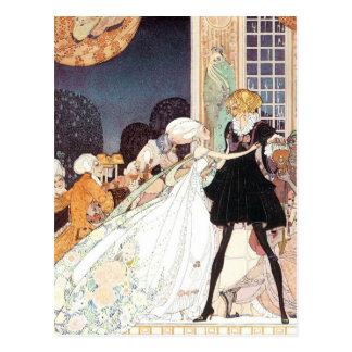 Vintage Twelve Dancing Princesses by Kay Nielsen Postcard