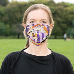 Vintage Twenties Film Poster Face Mask