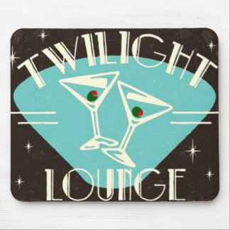 Vintage 'Twilight Lounge' Mousepad