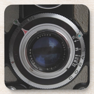 Vintage Twin Lens Camera Coaster