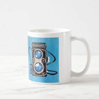 Vintage Twin Lens Camera Coffee Mug
