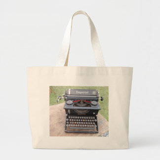 Vintage Type Writer Canvas Bags