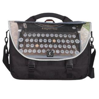Vintage Type Writer Computer Bag
