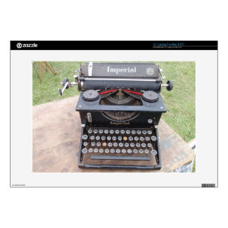 Vintage Type Writer Laptop Decals