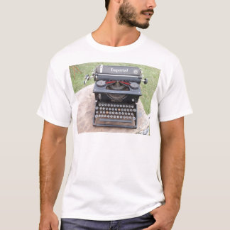 Vintage Type Writer T-Shirt