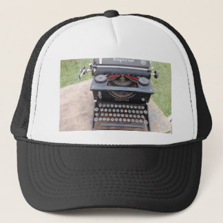 Vintage Type Writer Trucker Hat