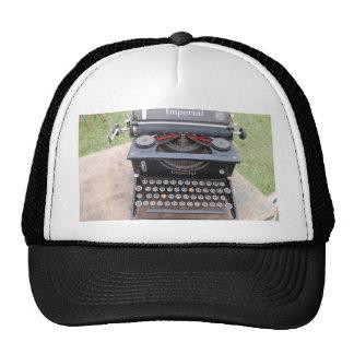 Vintage Type Writer Trucker Hat