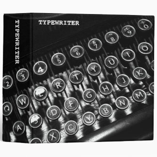 Vintage Typewriter (2in) Binder