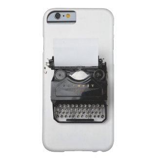 Vintage Typewriter Barely There iPhone 6 Case