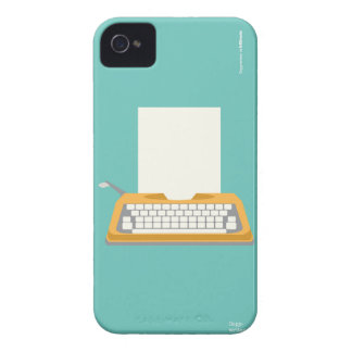 Vintage Typewriter Case-Mate iPhone 4 Case