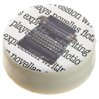 Vintage Typewriter Chocolate Dipped Oreo