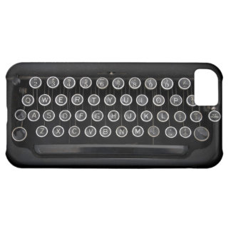 Vintage Typewriter Cover For iPhone 5C