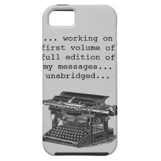 vintage typewriter humor iPhone SE/5/5s case