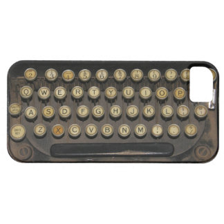 Vintage Typewriter iPhone SE/5/5s Case