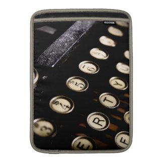Vintage Typewriter Keys Macbook Sleeve