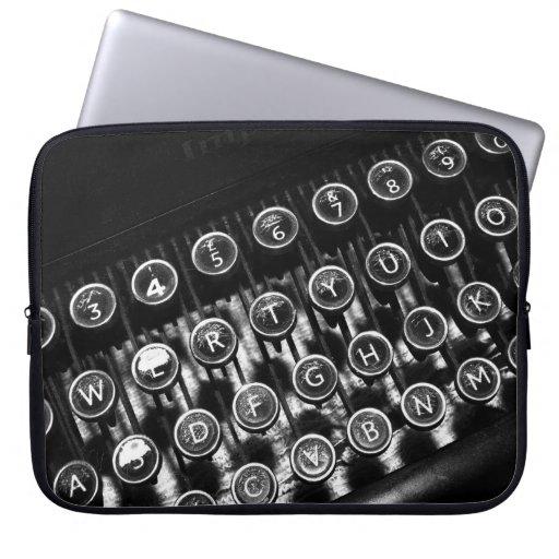 Vintage Typewriter Laptop Computer Sleeve
