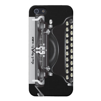 Vintage Typewriter Machine iPhone 5 Case
