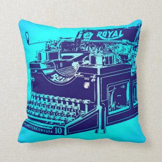 Vintage Typewriter Throw Pillows