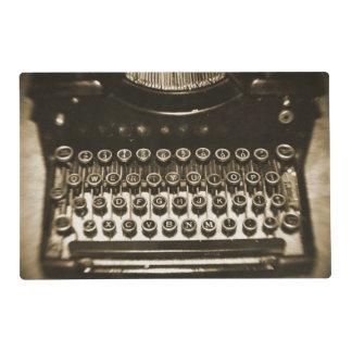 Vintage Typewriter Placemat