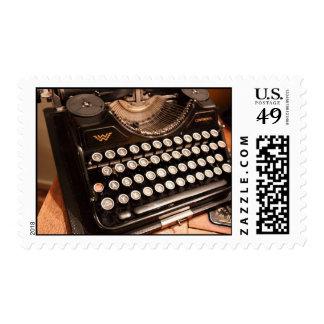 Vintage Typewriter Postage