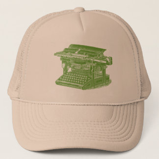 Vintage Typewriter Trucker Hat