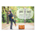 Vintage Typewritten Save the Date Announcement
