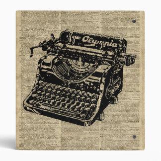 """Vintage Typewritter en la página del diccionario Carpeta 1"""""""