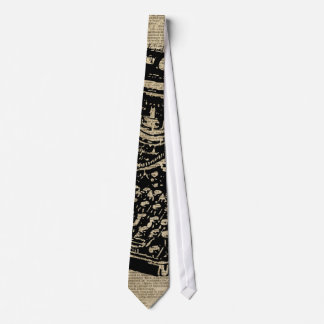 Vintage Typewritter on Dictionary page Tie
