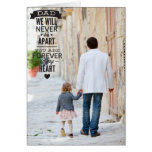 Vintage Typography Happy Father's Day Photo Card