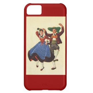 Vintage Tyrolean dancers, Austria Cover For iPhone 5C